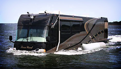 Lastest With The Rollerboat, You Can Take Your Motorhome Even A Big One Out On The Water When You Think Of An Amphibious RV All Kinds Of Questions Immediately Come To Mind How Do They Keep The Water Out? Is It Awkward To Drive On Land,
