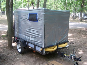 An RV Made Out of Duct Tape